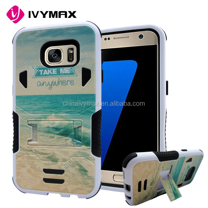 cartoon design mobile phone case for Samsung S7 anti-shock case
