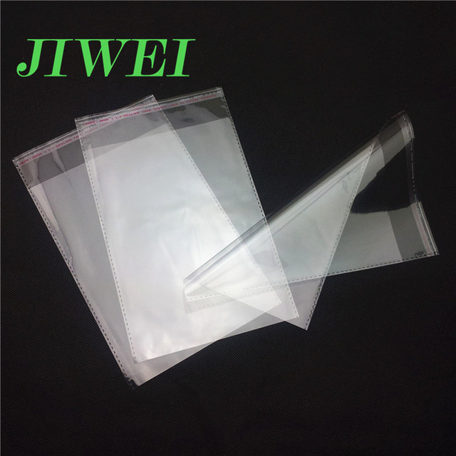 Clear Plastic Adhesive PE Opp Suppliers Custom Polybag Direct