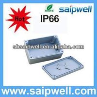 Saip high quality waterproof aluminum pcb enclosure IP67