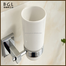 New 2016 Western unique design Bathroom accessory Brass Chrome finshing Wall mounted Tumbler Cup