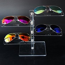 Modern 4 Layer Detachable Acrylic Sunglasses Eyeglasses Jewelry Showing Desktop Holder Showcase Display Stand Rack Shelf