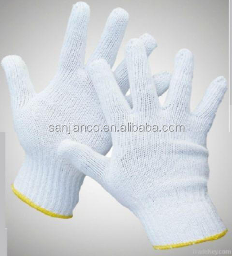 best selling 7gauge 10 gauge work glove mechanic glove safety cotton glove