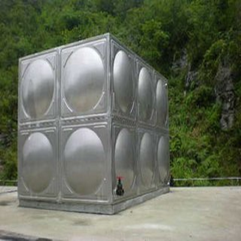square stainless steel solar water storage tank