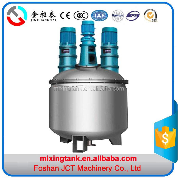 High pressure stainless steel cooling pad glue mixing machine