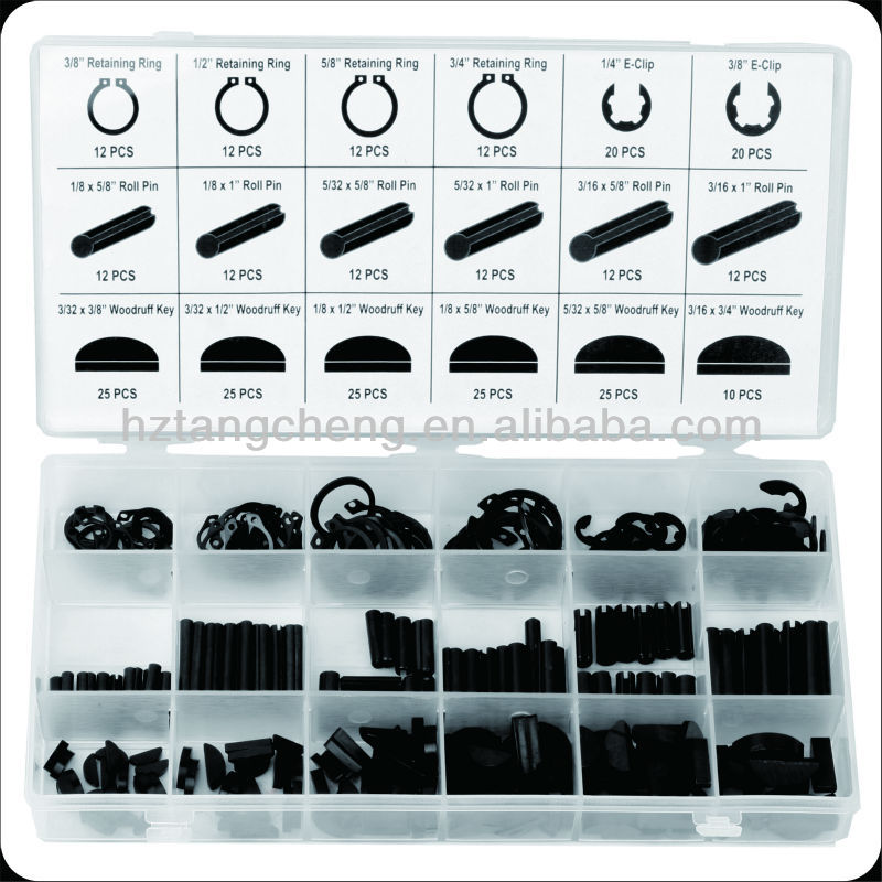 high quality 295pc types locking pins ring and key shop assortment