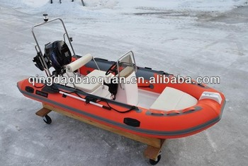 3.9m rib tender boat with motor 390 with CE