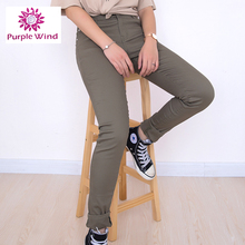 Olive Soft Stretchy fashion fancy jeans wholesale price