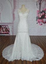 Pictures of latest gown design alibaba fashion style lace mermaid wedding dress