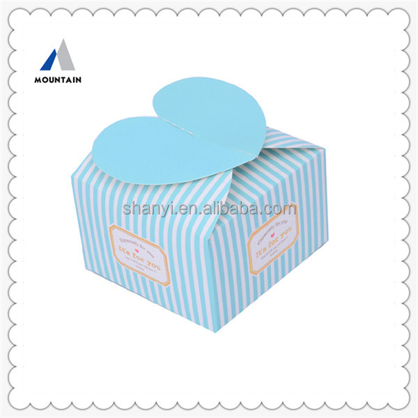 Mountain Beautiful Design Paper Cake Card Boxes Wholesale