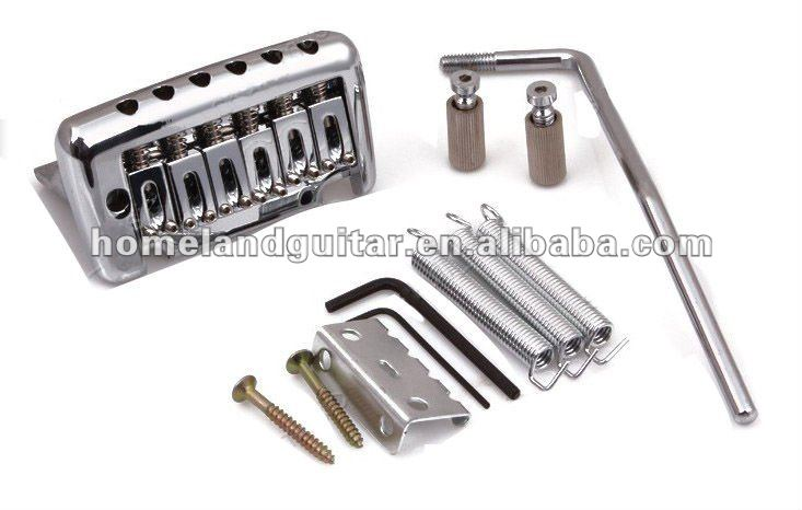 Heavy metal 6string Electric Guitar Tremolo Bridge