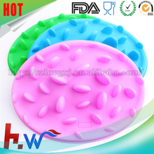 2016 silicone slow pet feeder slow eat dog bowl pet dish large