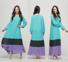 2016 Latest Design Contrast Color Stylish Pakistani Dresses For Lady/Ribbon Work In Pakistani Dresses