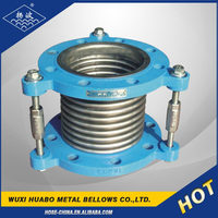 Yangbo tie rods flange steam pipe expansion joints