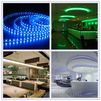 Factory Smd IP65 waterproof bicolor underwater led strip light ip68
