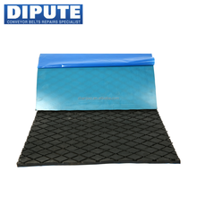 5mm/15mm abrasion resistant fabric reinforced neoprene rubber sheet