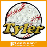 TYLER baseball logo embroidery patch