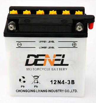 12v4ah High Quality lead acid Motorcycle auto/spotlightbattey manufacturer