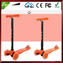 3 Wheels Led Light China Kids Suitcase Falcon Freestyle Scooter