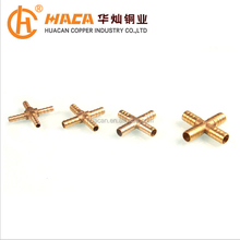 brass Cross joint with good quality