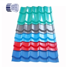 colour coated metal roofing sheet galvanized corrugated steel roof tile