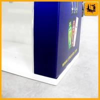 display folding up promotion counter portable exhibition display countermade from Shanghai Youte
