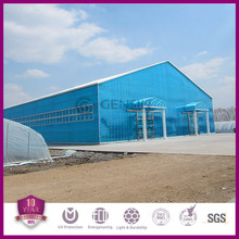 Double wall polycarbonate panel
