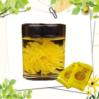 organic blooming tea Yellow blooming flower chrysanthemum tea