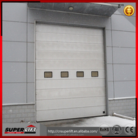 Safety Standard Lifting Sectional Industry factory Door