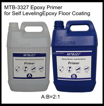Self Leveling Liquid Epoxy Primer for Conrete Floor Coatings