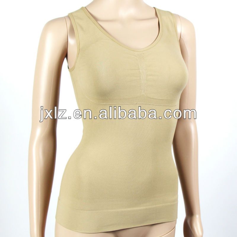 Nylon Spandex Sport Body Shaper Seamless Underwear Bra Model