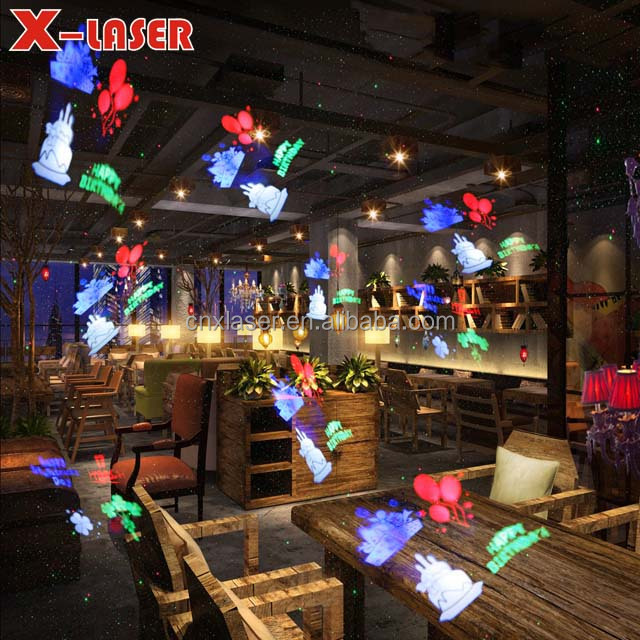 RGBW Outdoor Garden Landscape Lawn Projector for Halloween Christmas Xmas Festival Birthday Party Decoration