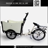 adult pedal electric cargo bike BRI-C01 passagers tricycle electrique couverts