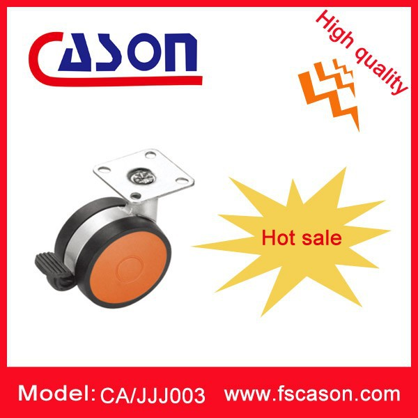 China manufacture fancy heavy duty office chair casters