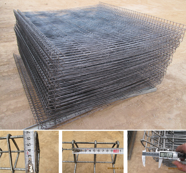 Hot Dipped Galvanised BRC Welded Wire Mesh Fence / Galvanized BRC Welded Mesh