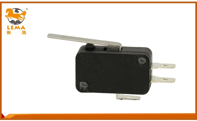 Factory High Quality Black Plastic micro switch For Sale