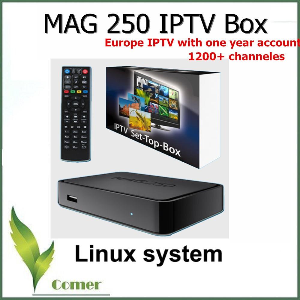 Ip-tv приставка mag 245/250 micro