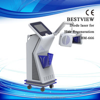 Most effective professionall hair loss laser 670nm powerful hair growth products