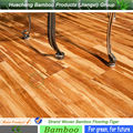 Best seller indoor tiger strand woven bamboo flooring