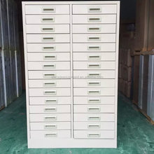 Many small drawers cheap metal storage cabinet