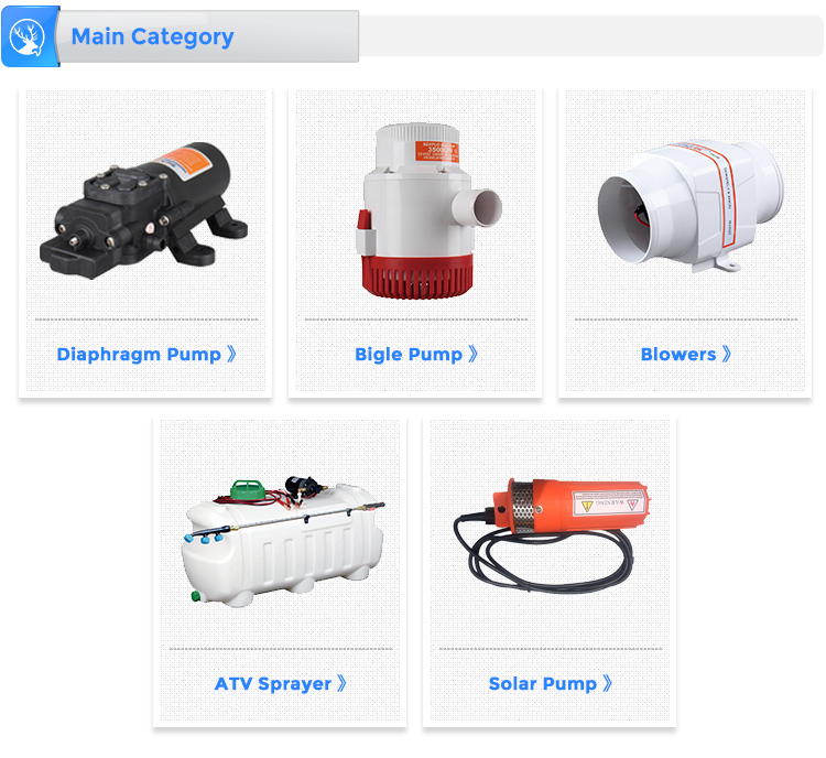 Auto Water Bilge Pump Electric Marine Water Pump