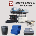Tanks and Pallet plastic blow molding machine