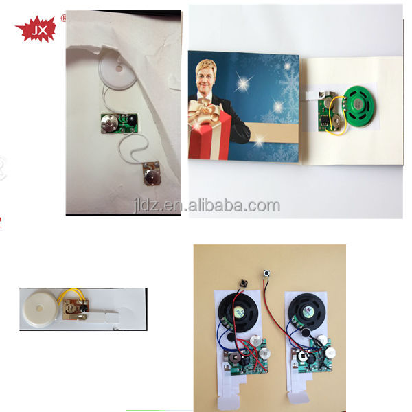 All kinds of greeting cards musical ic chip