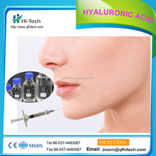 Anti aging hyaluronic acid HA dermal Filler injection deep line 10.0 ml/bottle for chin contours