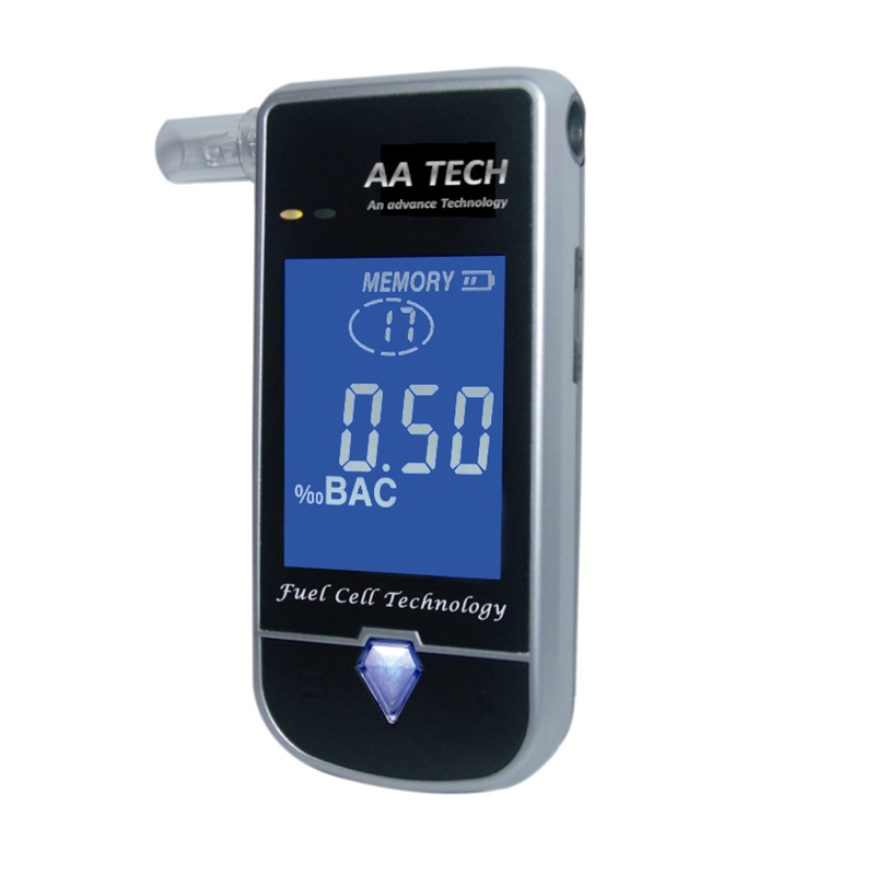 China Supplier digital alkohol breath tester breathalyzer with best quality and low price