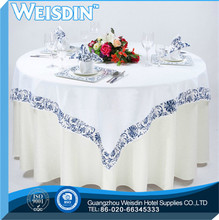 Satin Fabric Guangzhou Plaid french non slip tablecloth