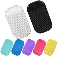 New Arrival Silicone Gel Magic Sticky Phone Pad Holder Car Dashboard Sticky Pad Anti Slip Mat For Car Mobile Phone
