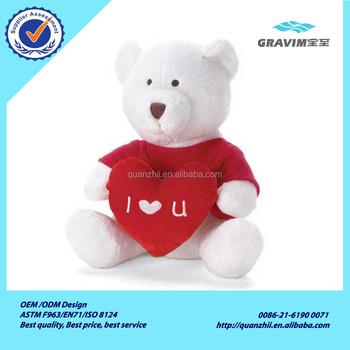 Red Heart Valentine Teddy Bear Buy Panda Christmas Toys