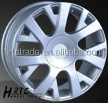 HRTC Popular curved spokes custom alloy wheels 16 for peugeot