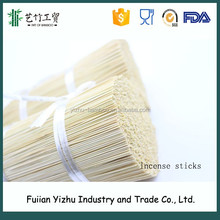 Large Large Quantity Natural Color 8/9 Inch Bamboo Stick Incense With Fragrance