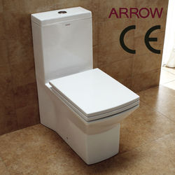 ce approved bathroom ceramic sanitary ware one piece siphonic toilet
